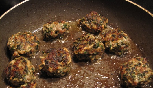 Kale and Turkey Meatballs