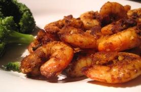 4. Spicy Shrimp: http://agarlicgoddess.com/2010/10/11/spicy-shrimp-and-puppy-snuggles/