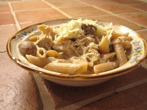 Marsala Cream Pasta