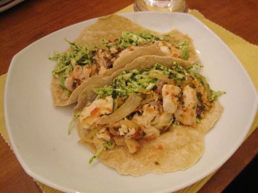Spicy-Citrus Fish Tacos