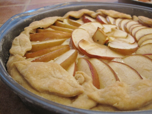 Brie Apple Tarts with Sage Brown Sugar