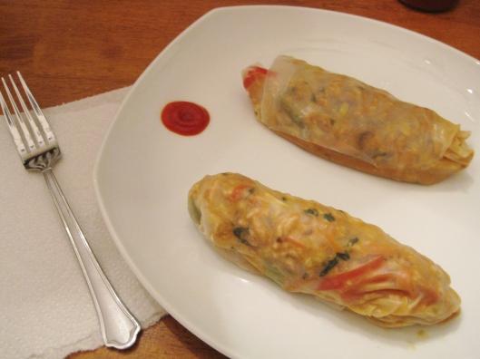 Thai Peanut Rolls