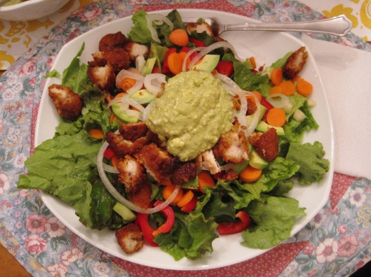 Blue Cheese Avocado Dressing