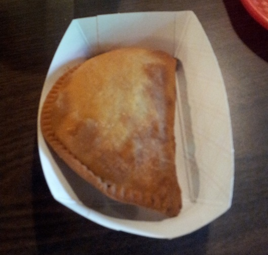 Meat Pie at the Cypress Knee Café