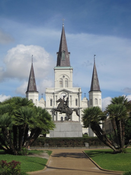 Jackson Square in New Orleans, LA