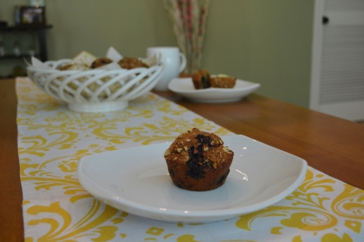 Blueberry Pecan Muffins