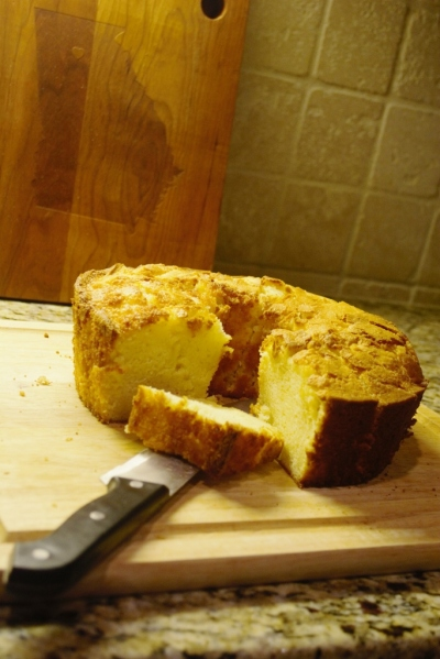 Lighter Buttermilk Pound Cake
