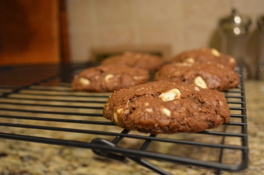 Double Chocolate Coconut Cookie