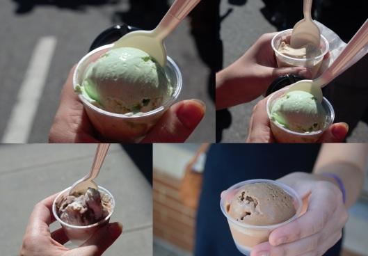 Ice cream from Morellis