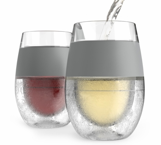 Freezer Wine Glasses by HOST