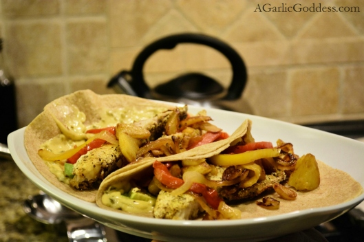 Citrus and Pineapple Fish Tacos
