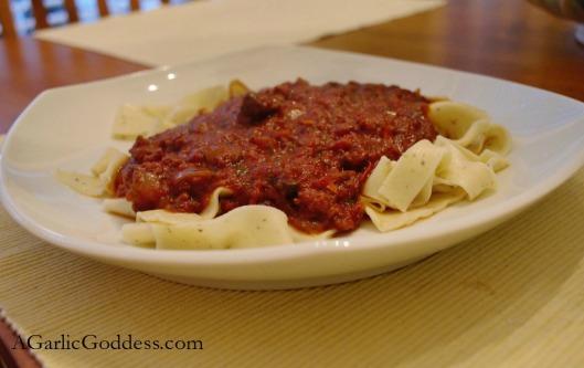 Crockpot Tomato Sauce