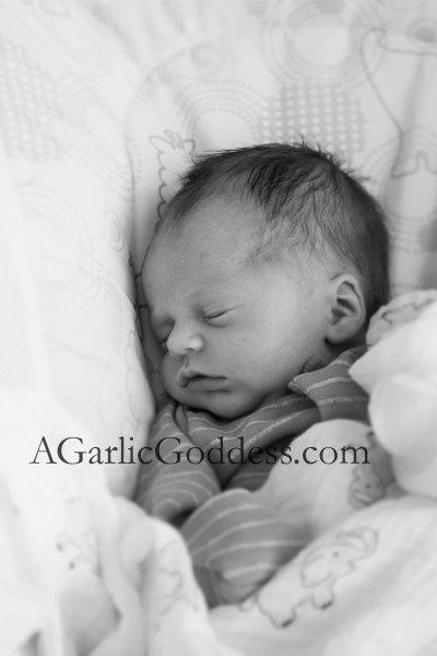 NewbornBoyGarlicGoddess